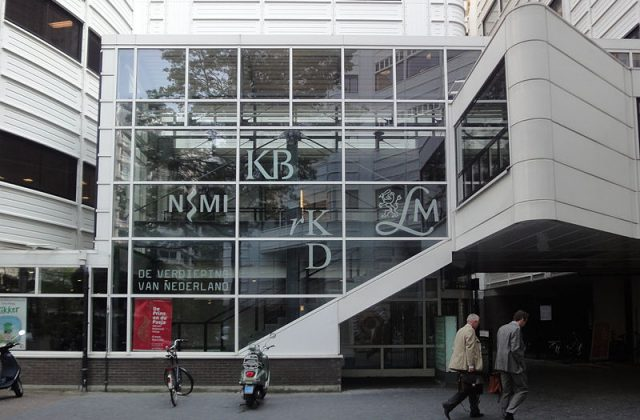 Koninklijke_Bibliotheek en RKD. From Wikimedia Commons. By Vera de Kok.