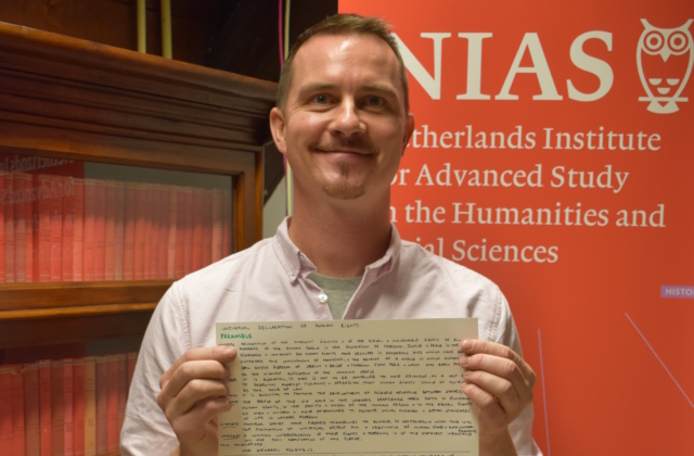 Handwriting UN Declaration McGarry