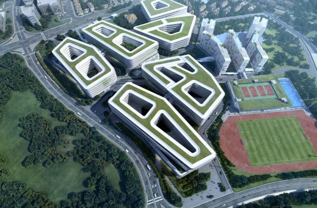 Singapore University of Technology and Design (SUTD), Singapore, 2010 – 2015 Architect: Ben van Berkel / UNStudio