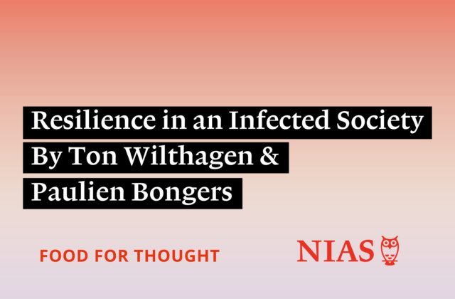 Resilience in an Infected Society