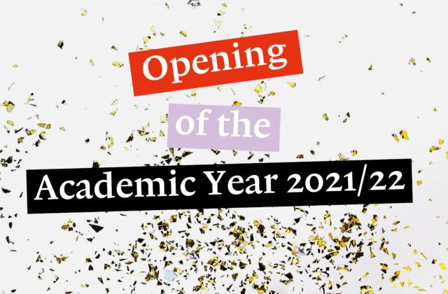 Opening Academic Year 2021/22 4